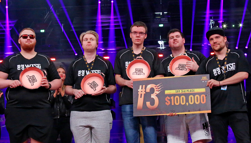The team secured third place in the PUBG Global Invitational 2018. Image Source: cybersports.com