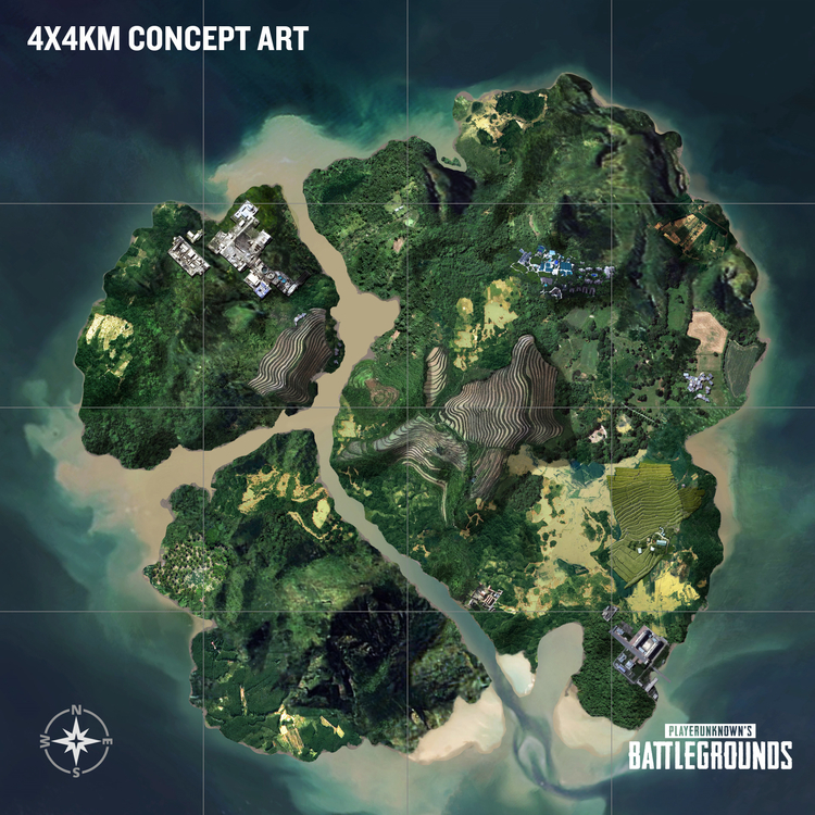 I think the upcoming 4x4KM map, or a similar concept, could possibly be the answer to some of competitive PUBG's problems.